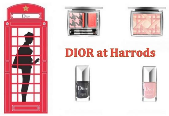 Dior at Harrods
