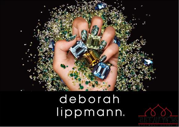 Deborah Lippmann Jewelry heist look