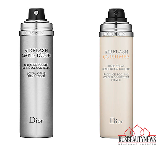 Dior new airflash mattetouch and CC primer