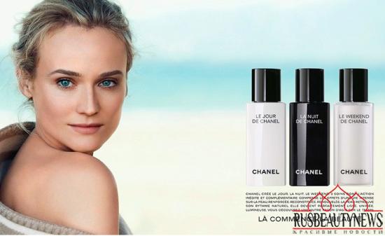 Chanel creams look