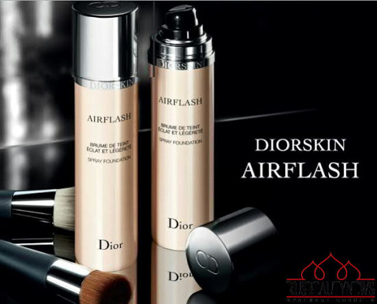 Dior new airflash foundation look