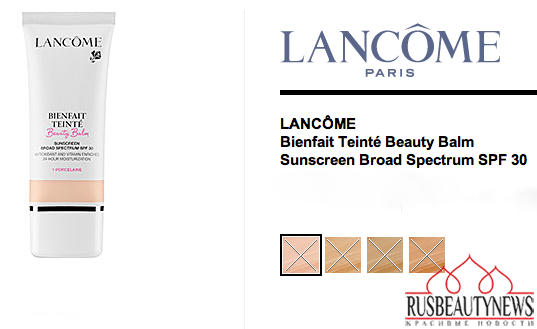 Lanc BB cream colors