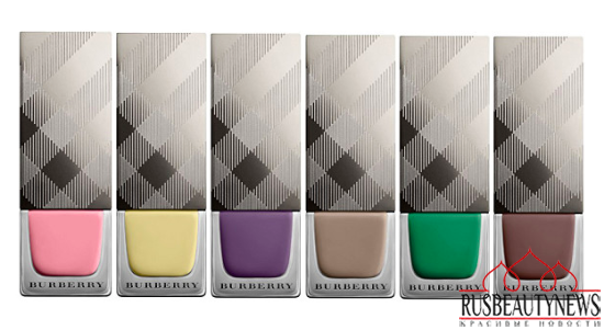 Burberry nail set look3