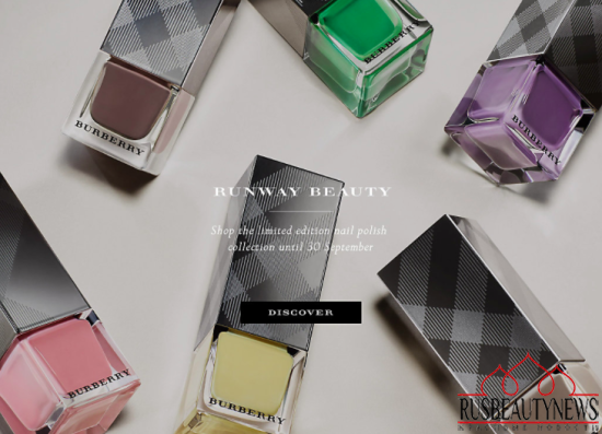 Burberry nail set2