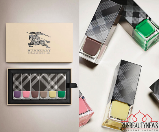 Burberry nailset look