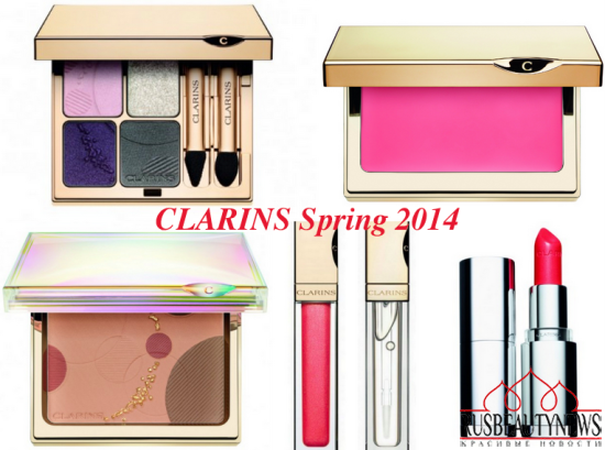 Clarins spring 2014