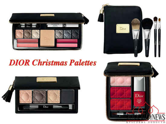 Dior christmas 2013 palettes
