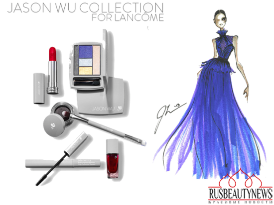 Lancome JWu collection look