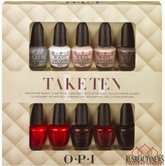 OPI holiday 2013 set10