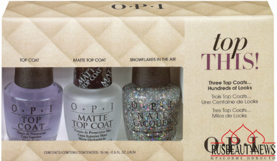 OPI holiday2013 set top