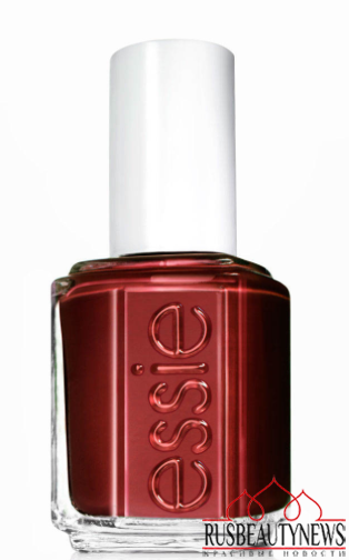 red nail Essie