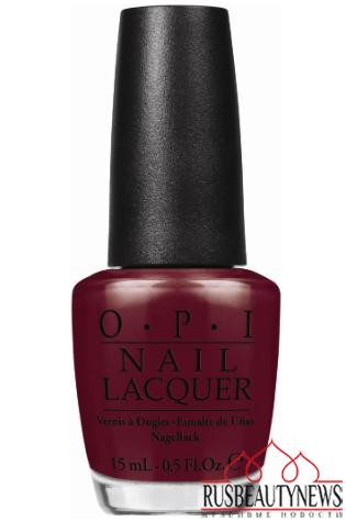 red nail opi