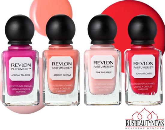 Revlon parfumerie nail enamels