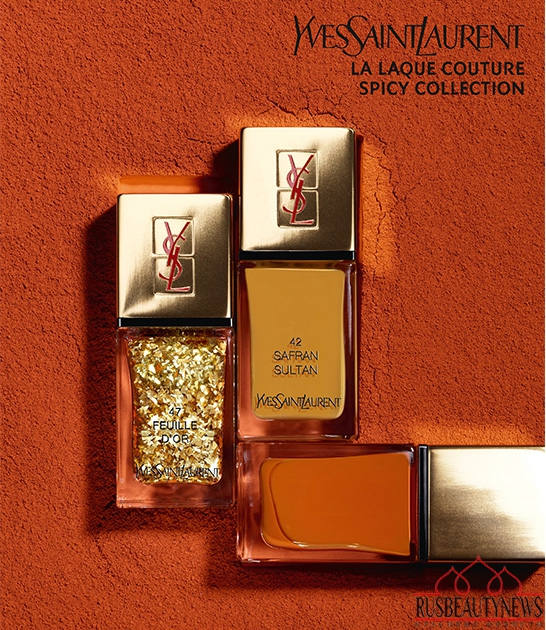 YSL new laque 2014 look