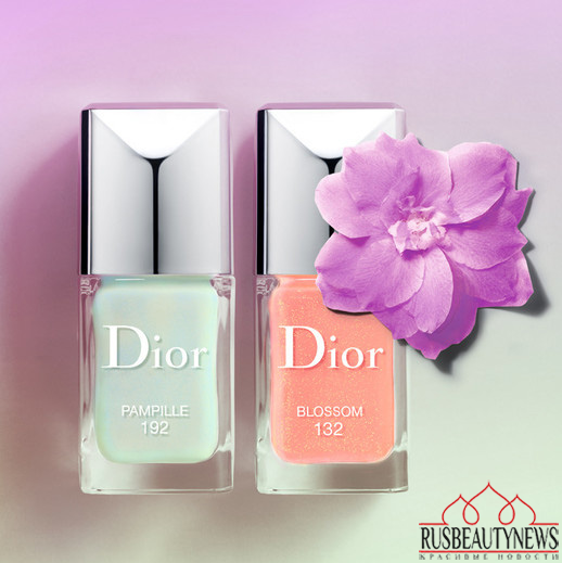 Dior in bloom nail