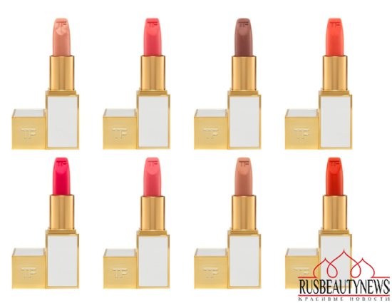Tom Ford spring 2014 makeup lipp colors