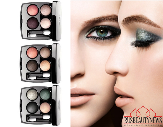 Chanel Les 4 Ombres Collection for Spring 2014