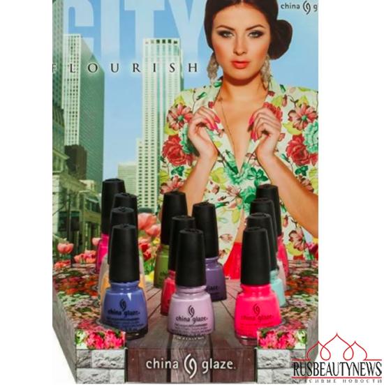 China Glaze city flourish spr14 collection