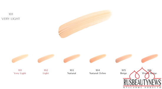Shiseido corrector colors