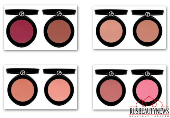 Armani Cheek Fabric Blush look2