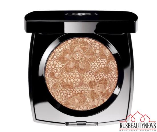 Chanel Dentelle Précieuse Illuminating Powder look1