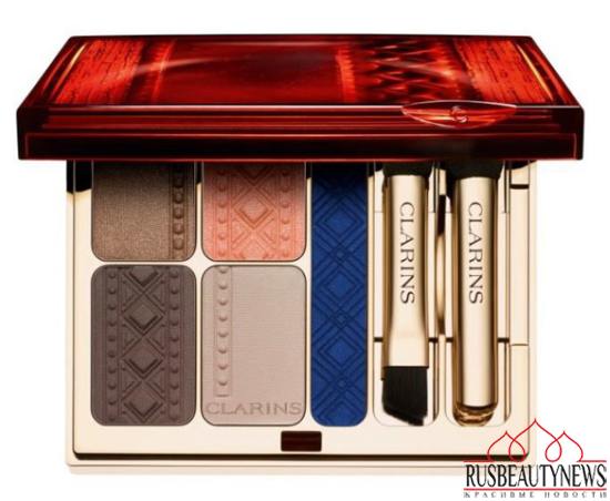 Clarins Colour of Brazil Collection summer 14 eye palette