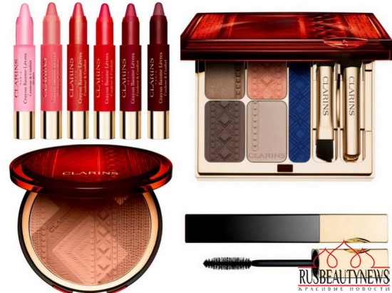 Clarins Colour of Brazil Collection summer 14 look