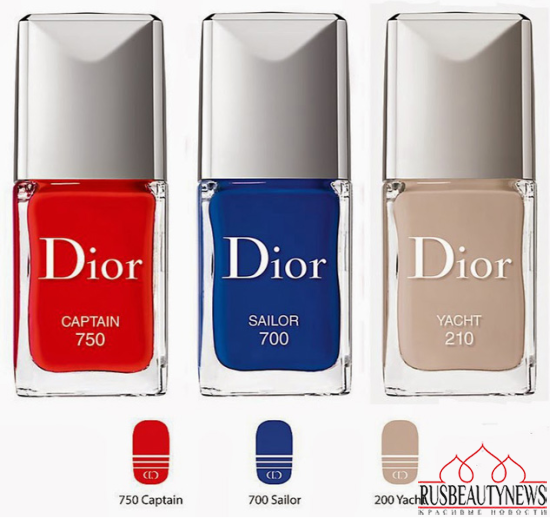 Dior Transatlantique Collection for Spring 2014 nail