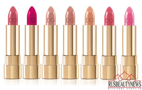 Dolce & Gabbana Classic Cream Lipstick Spring 2014 1