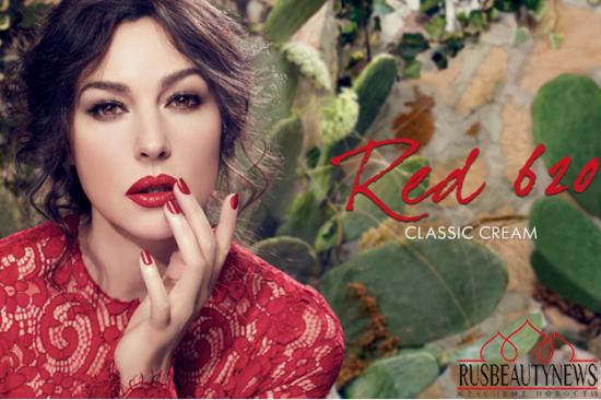 Dolce & Gabbana Classic Cream Lipstick Spring 2014 look