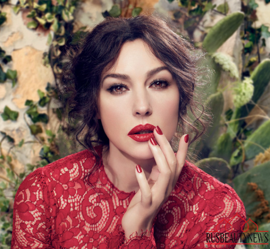 Dolce & Gabbana Classic Cream Lipstick Spring 2014 look2