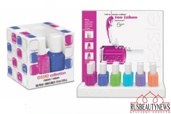 Essie Neon Collection for Summer 2014 look2