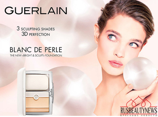 Guerlain Blanc de Perle Bright & Sculpt Powder Foundation look