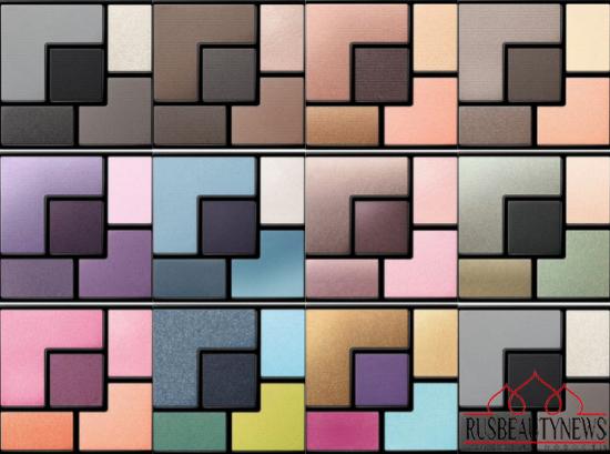 YSL palette summer 2014