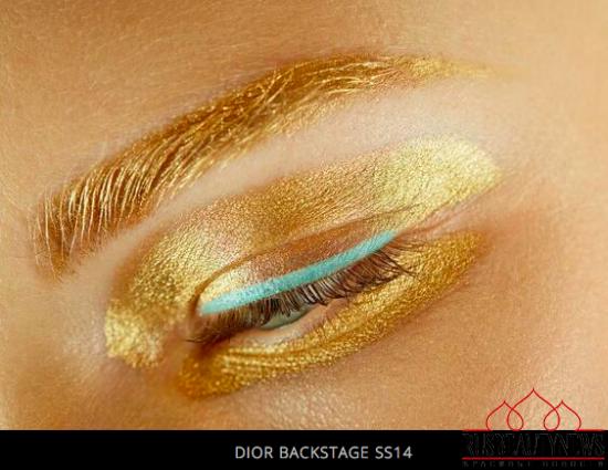 Dior backstage ss14