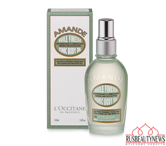 L'Occitane Almond Tonic Body Oil look
