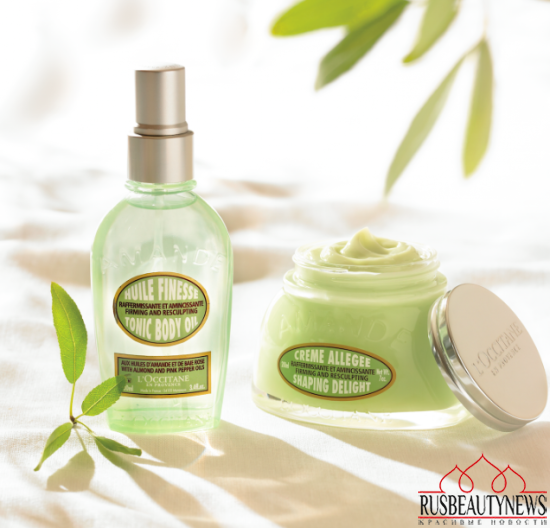 L'Occitane Almond Tonic Body Oil look2