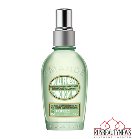 L'Occitane Almond Tonic Body Oil look3