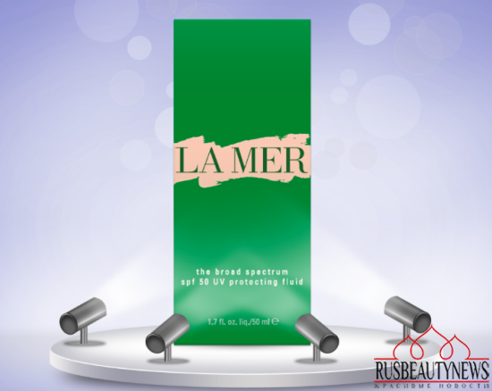 La Mer The SPF 50 UV Protecting Fluid look