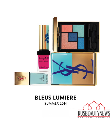 YSL Bleus Lumiere Makeup Collection for Summer  look22014