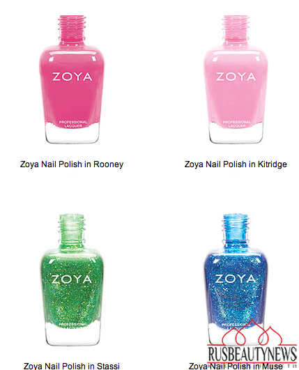 Zoya Tickled and Bubbly Nail Polish Collections for Summer 2014 color2