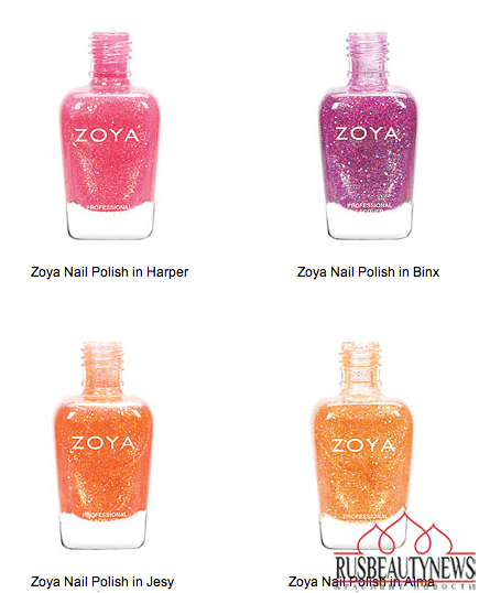 Zoya Tickled and Bubbly Nail Polish Collections for Summer 2014 color3