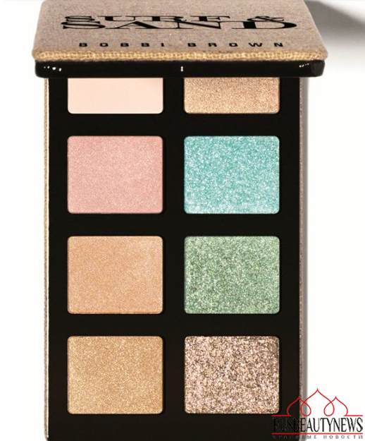Bobbi Brown Surf & Sand Summer 2014 Collection  eyepalette1