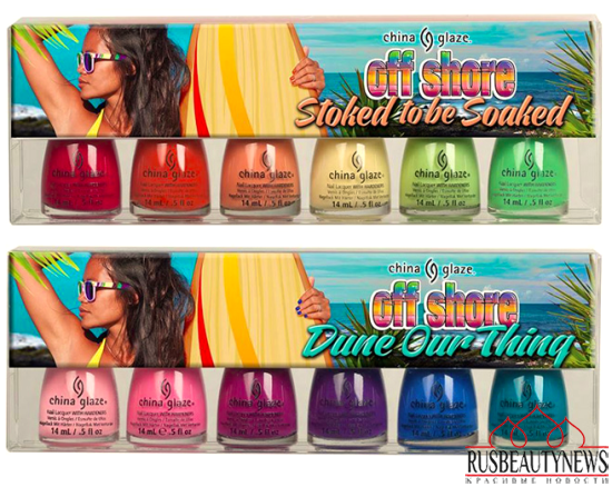 China Glaze Off Shore Summer 2014 Collection look2
