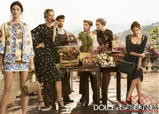 Dolce & Gabbana Summer Glow 2014 look1