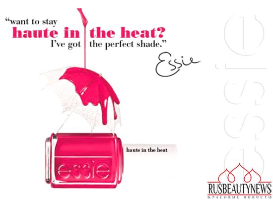 Essie Haute in the Heat Summer 2014 Collection