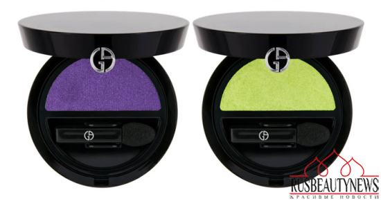 Giorgio Armani Bright Ribbon Summer 2014 Collection Shadow4