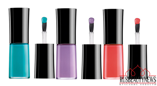 Giorgio Armani Bright Ribbon Summer 2014 Collection nail1