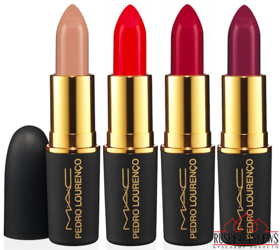 MAC Pedro Lourenço Collection for Summer 2014 lip