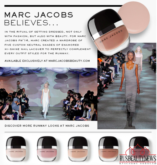 Marc Jacobs Beauty Enamored Hi-Shine Lacquer Runway Shades